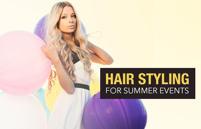 Hair Styling for Summer Events
