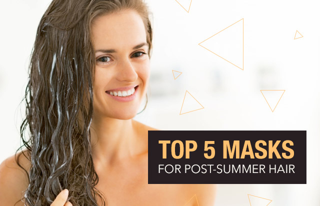 Top 5 Masks for Post Summer Hair