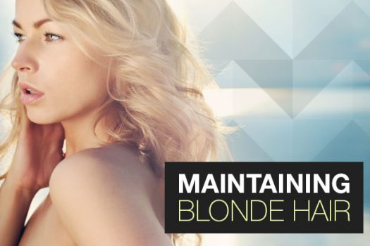 Maintaining Blonde Hair