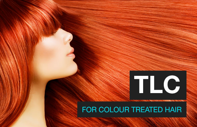 TLC for colour treated hair