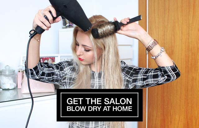 Get the salon blow dry at home