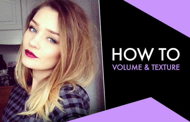 How To: Volume & Texture