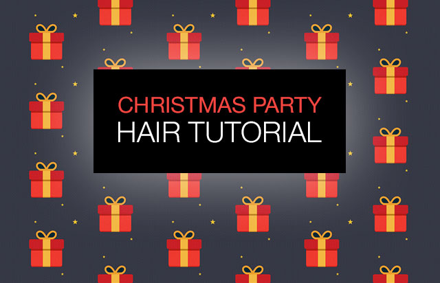 Tutorial: Christmas Party Hairstyle