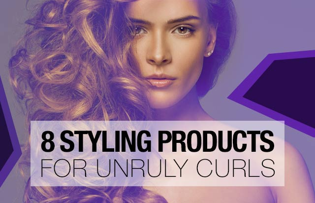 8 Styling Products For Unruly Curls