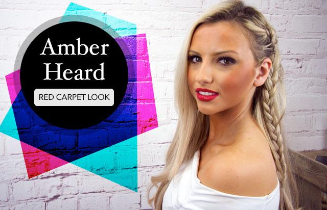 Amber Heard: Red Carpet Look