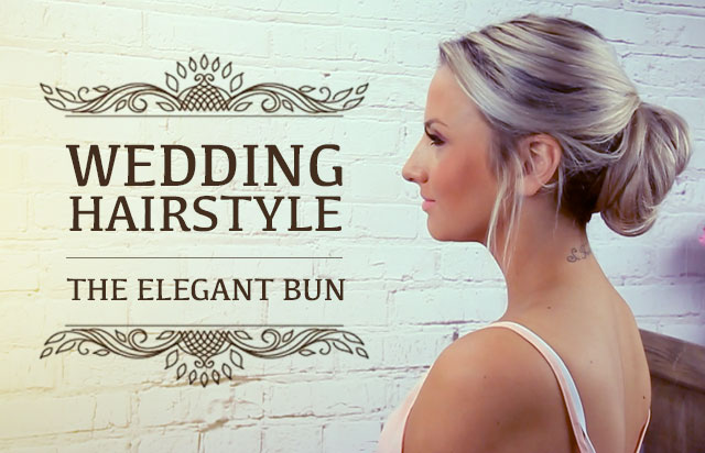 Wedding Hairstyle: The Elegant Bun