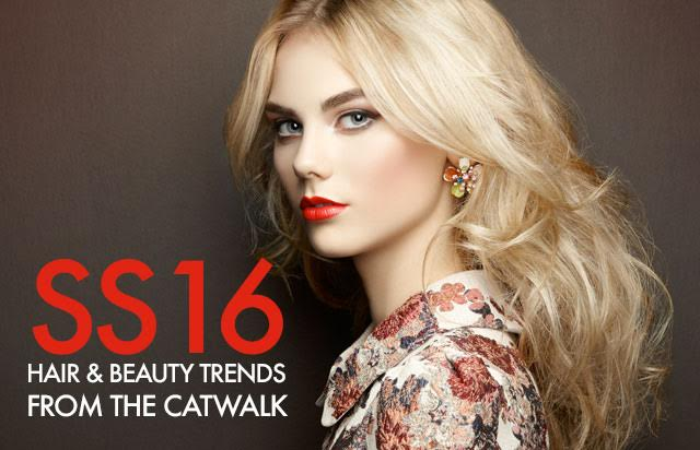 SS16 Hair & Beauty Trend from the catwalk