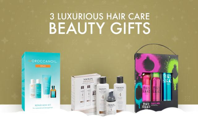 3 Luxurious Hair Care Holiday Beauty Gifts