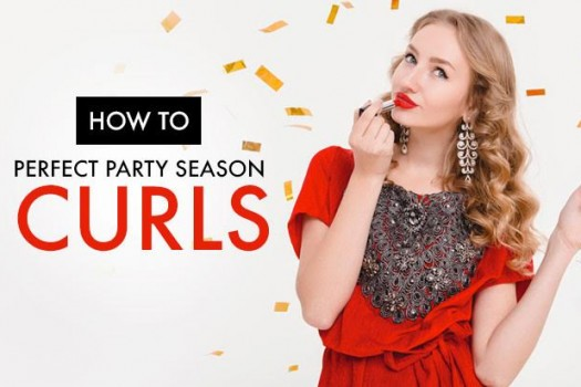 How to Get the Perfect Party Season Curls