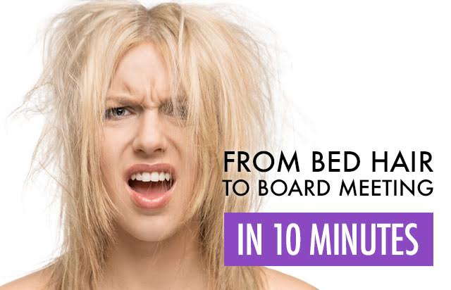 From Bed Hair to Board Meeting in Ten Minutes