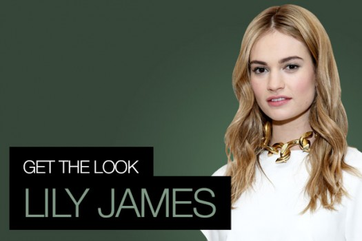 Get The Look: Lily James, BAFTAs Special