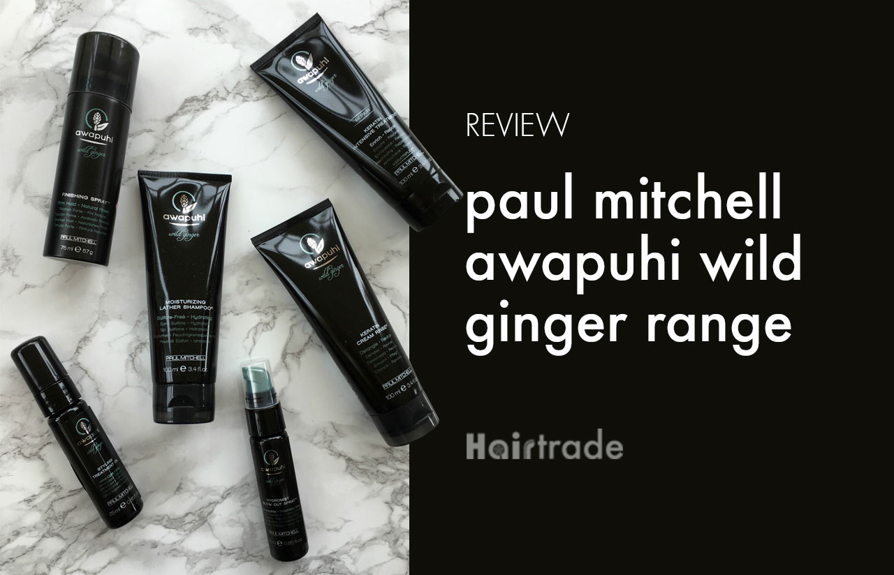 Paul Mitchell Awapuhi Wild Ginger Review