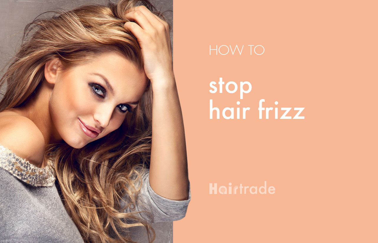 How to Stop Hair Frizz