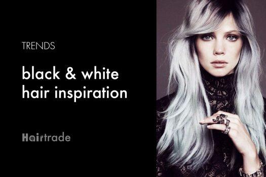 Black & white Hair Trends