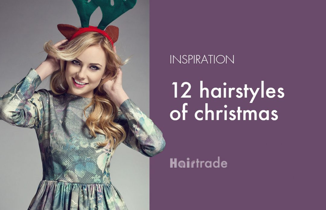 12 Hairstyles of Christmas