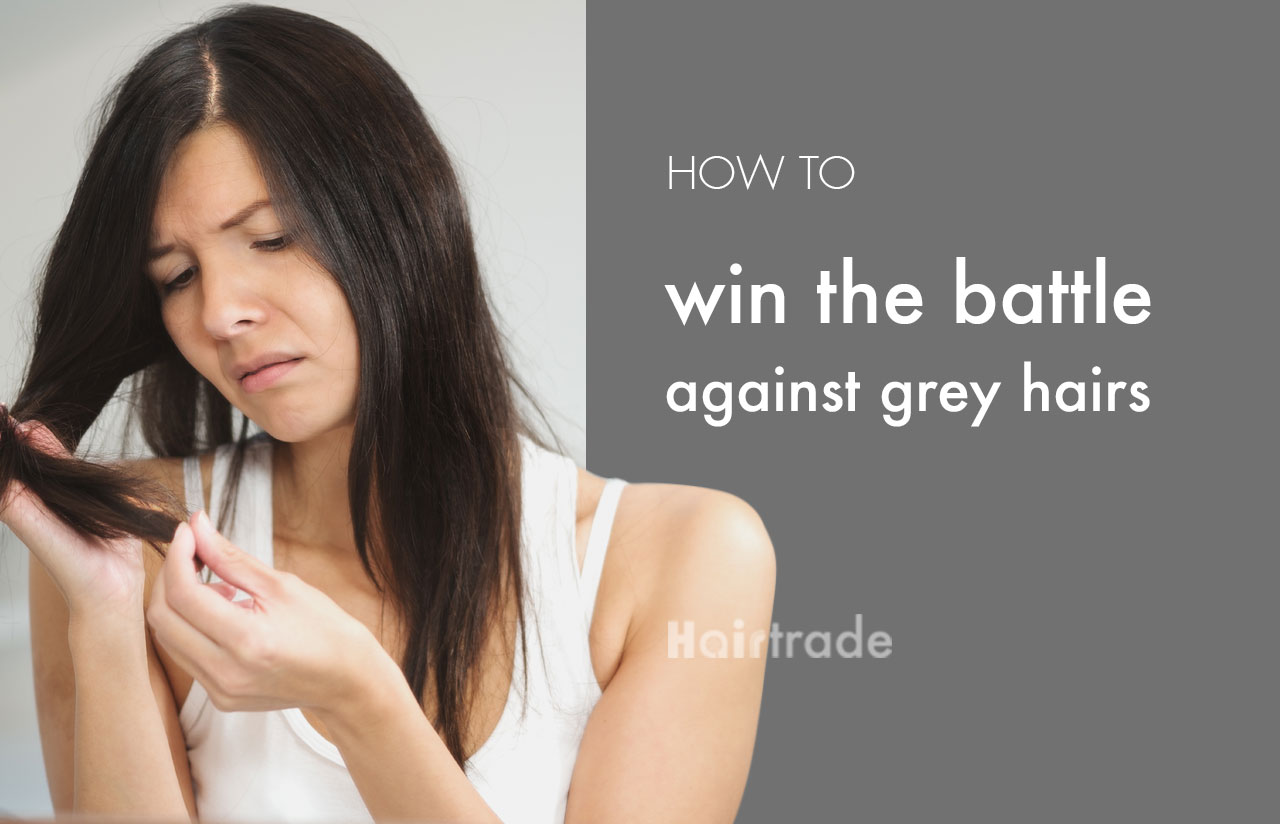 Win the Battle Against Grey Hairs