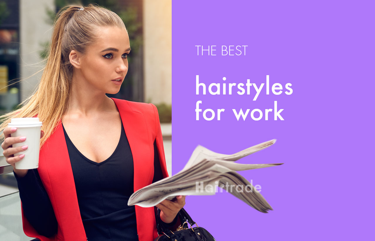 The Best 'Boss It' Hairstyles To Style For Work
