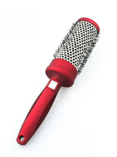 Medium Barrel Brush - Red