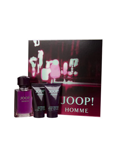 Joop Homme Gift Set (EDT Spray 75ml, Shower Gel 50ml and After Shave Balm 50ml)