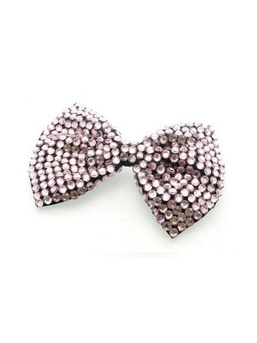 Large Bow Hair Slide - H00078