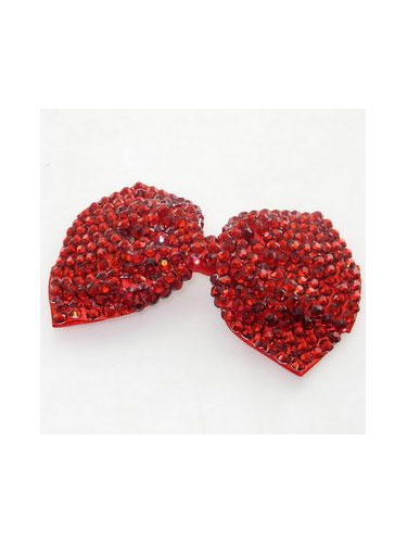Large Bow Hair Slide - H00079