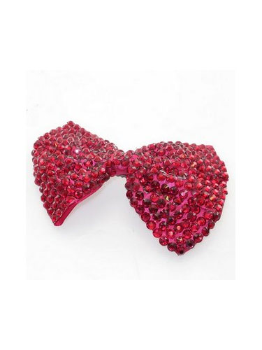 Large Bow Hair Slide - H00080