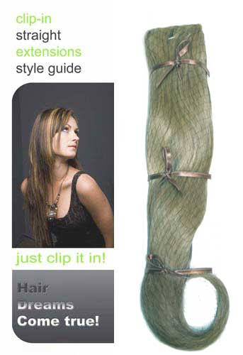 I&K Instant Clip-in Hair (ASH BLONDE)