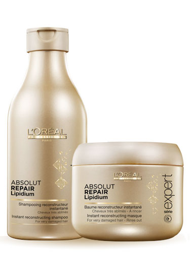 L'Oreal Professionnel Absolut Repair Lipidium Travel Pack