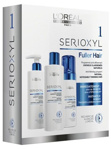 L'Oreal Professionnel Serioxyl Kit 1 for Natural Hair
