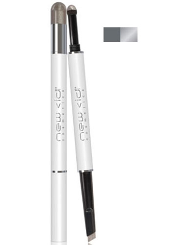 New CID I-Smoulder Smoky Eye Pencil and Shadow - Silver