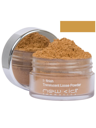 New CID I-Finish Translucent Loose Powder - Dark
