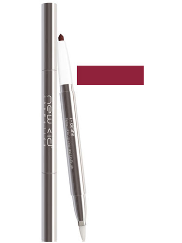 New CID I-Define Retractable Lip Liner and Lip Brush - Berry