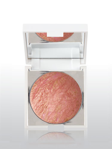 New CID I-Glow Compact Shimmer Powder With Mirror – Coral Crush