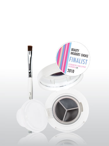 New CID I-Gel Long Wear Gel Eye Liner Trio With Brush - Granite Graphite Carbon