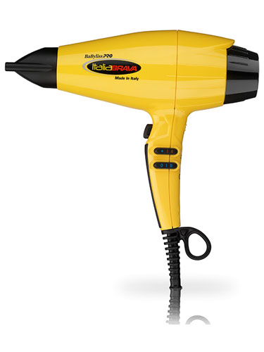 Babyliss Pro ItaliaBrava Brushless Motor Dryer (Yellow)