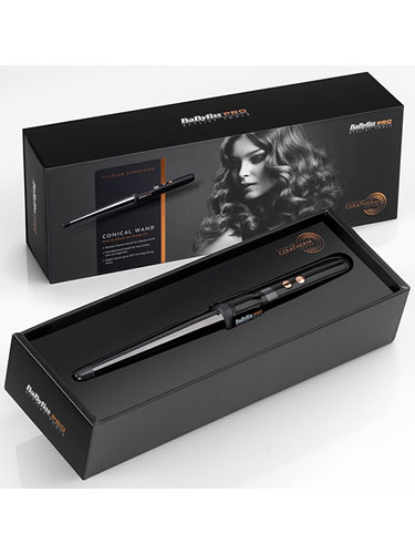 Babyliss Pro Titanium Expression Conical Wand (25-13mm)