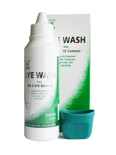 Eye 2 Eye Contacz Eye Wash (125ml)