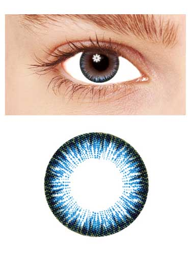Eye like it 2 Tones Color Eye Accessories(HV26)