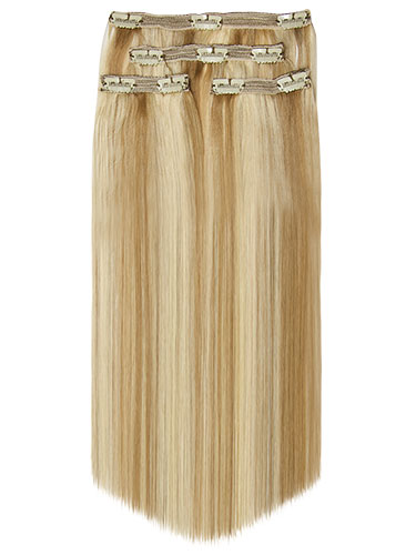 Fab Clip In Lace Weft Remy Hair Extensions - Full Head
