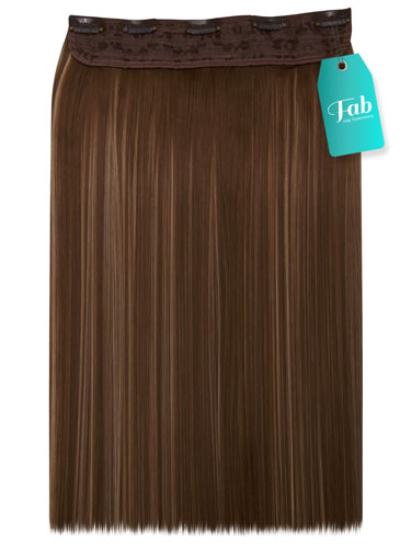 Fab Clip In One Piece Synthetic Hair Extensions