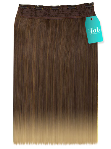 Fab Clip In One Piece Synthetic Hair Extensions - Straight