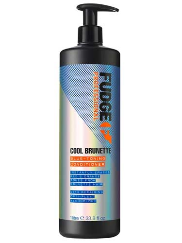 Fudge Cool Brunette Blue Toning Conditioner (1000ml)