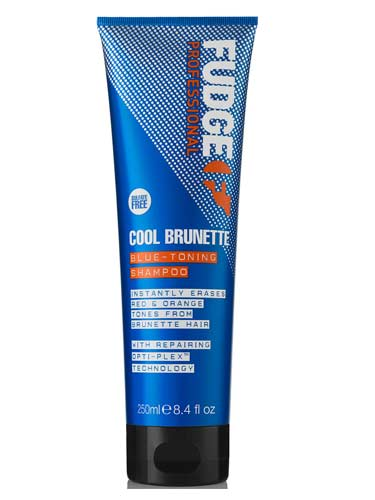 Fudge Cool Brunette Blue Toning Shampoo (250ml)