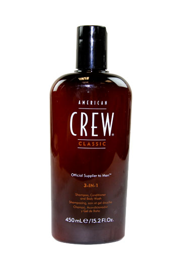 American Crew 3-in-1 (Shampoo, conditioner and Body wash) (450ml)