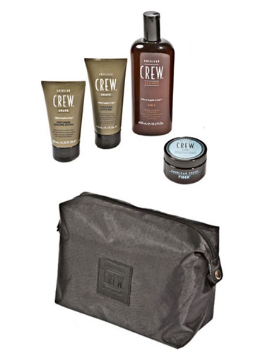 American Crew Luxury Travel Bag Gift Pack