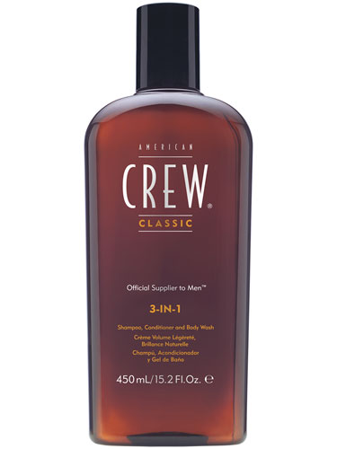 American Crew Classic 3-in-1 Shampoo, Conditioner & Body Wash (450ml)