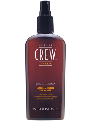 American Crew Medium Hold Spray Gel (250ml)