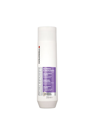 Goldwell Dualsenses Blondes and Highlights Anti-Brassiness Shampoo (250ml)