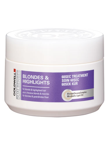 Goldwell Dualsenses Blondes and Highlights Anti-Brassiness 60 Sec Treatment (200ml)