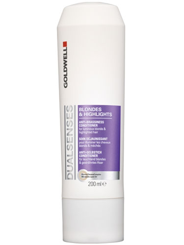 Goldwell Dualsenses Blondes and Highlights Anti-Brassiness Conditioner (200ml)